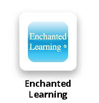 Enchanted Learning Button