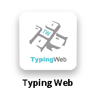 Typing Web Button